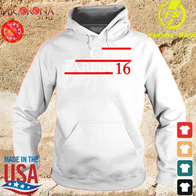 Funny Chris Farley 16 make America great again s hoodie