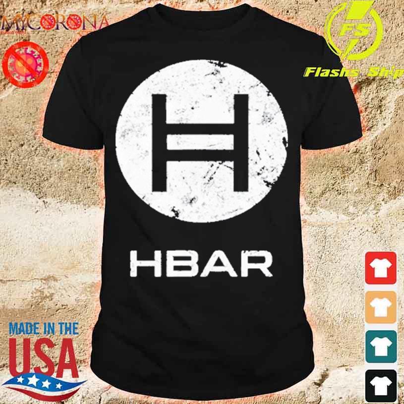 HBAR Crypto Hedera Hashgraph Blockchain Shirt