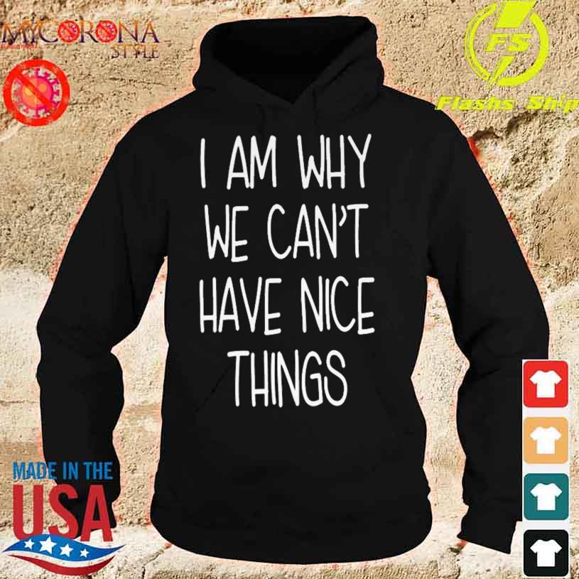 I'm Why We Can't Have Nice Things Shirt hoodie