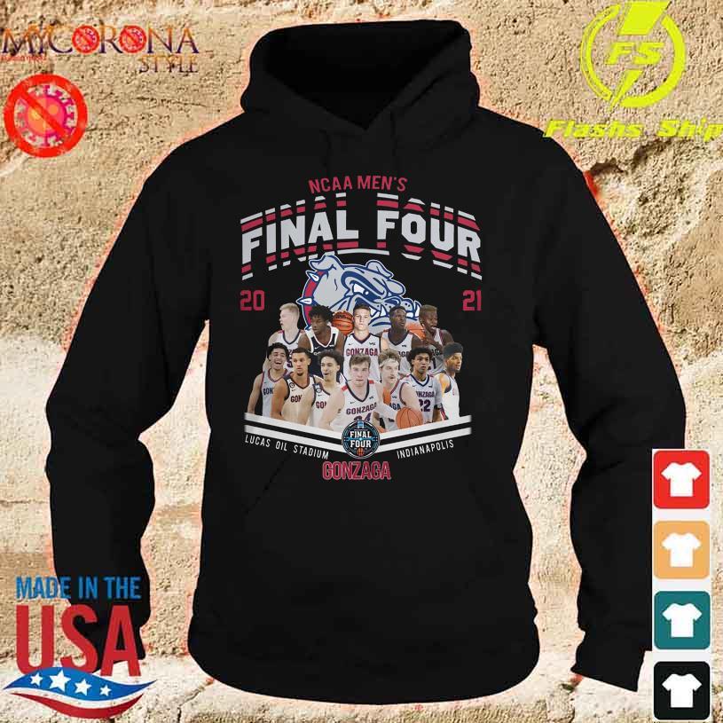 NCAA Men's Final Four 2021 Lucas Oil Stadium Indianapolis Gonzaga Bulldog s hoodie