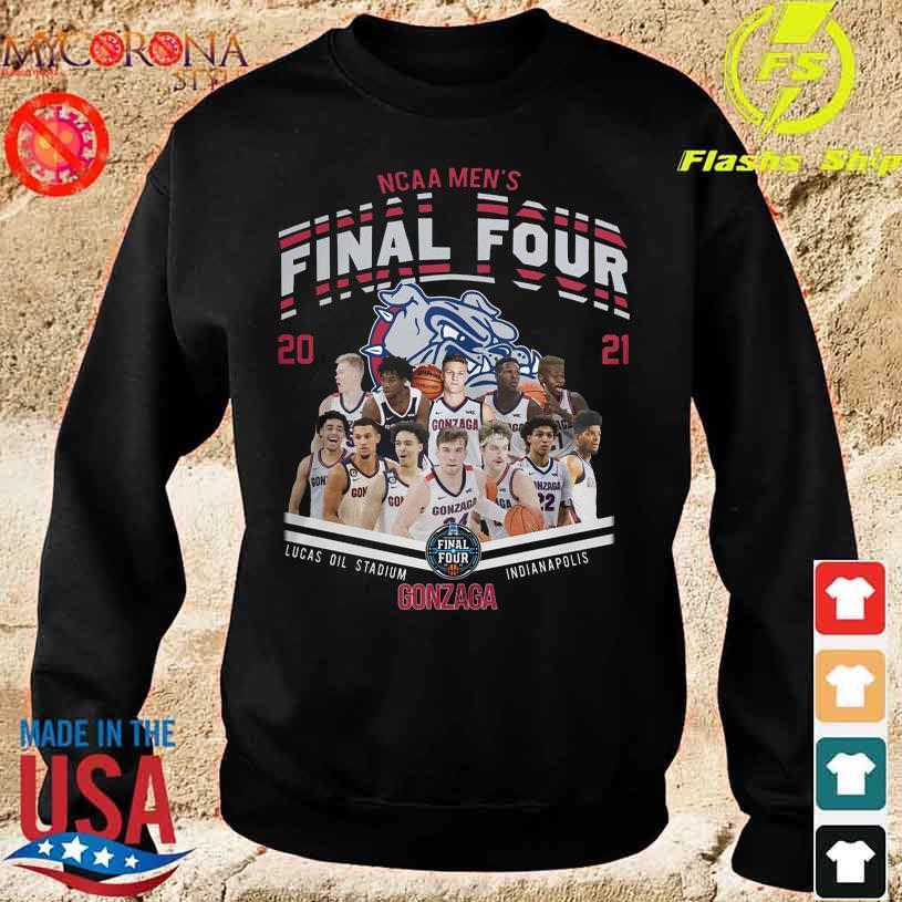 NCAA Men's Final Four 2021 Lucas Oil Stadium Indianapolis Gonzaga Bulldog s sweater