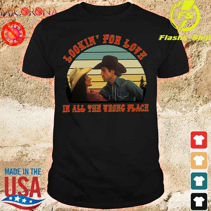Looking' for love in all the wrong place vintage shirt